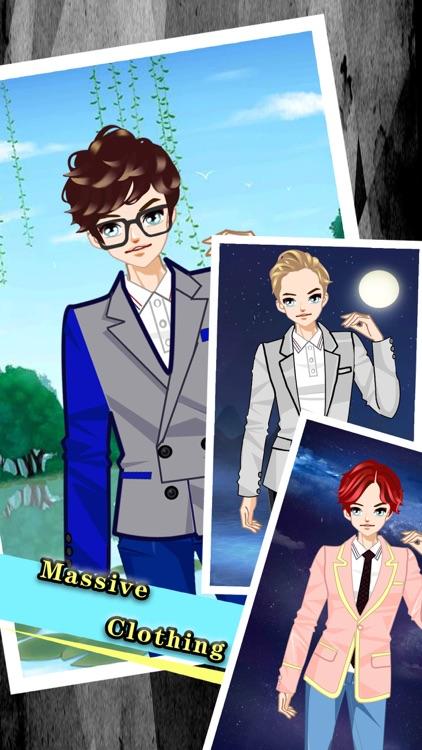 Makeup Cute boy -Boys and Girls dress up by weijun shi