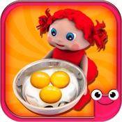 Toddler Kitchen Cooking Games-EduKitchen Girl Free hacken