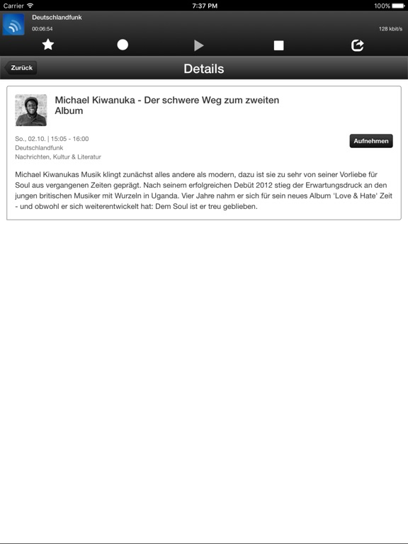 phonostar Radio-App - Dein Radioplayer Screenshot