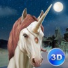 Unicorn Survival Simulator 3D - Be a magic horse, fight with animals for your survival!