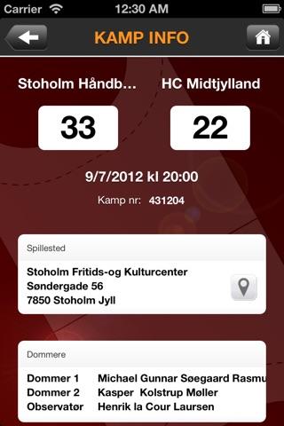 Håndbold screenshot 4