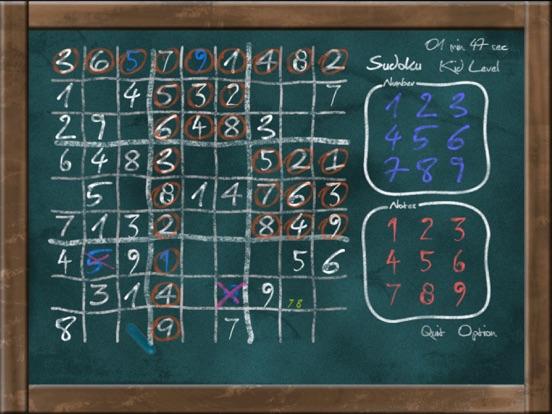 Скачать Sudoku on Chalkboard