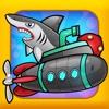 Submarine Adventure: Under The Water Ocean Game