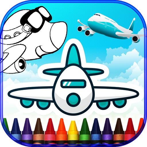 Planes Coloring Books iOS App