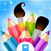 Kritzel-Malbuch - Kolorieren & Zeichnen