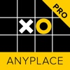 Anyplace Tic Tac Toe. Noughts & crosses game 5x5 anyplace control 3 6
