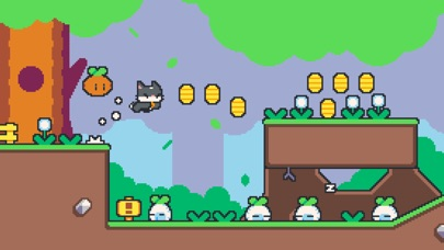 Screenshots of Super Cat Tales for iPhone