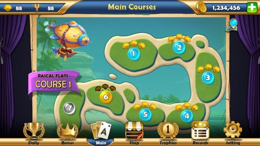 Seagirt Solitaire Screenshot