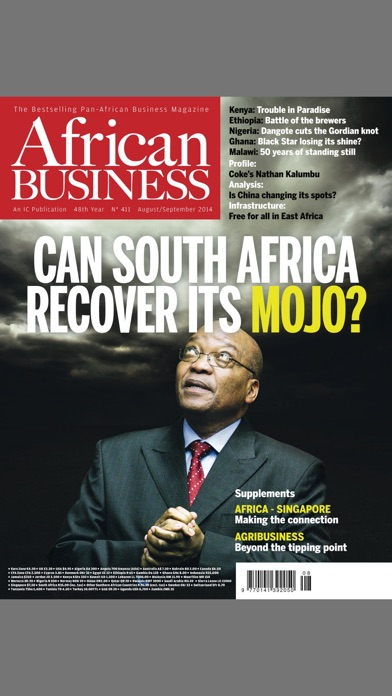 African Business review screenshots