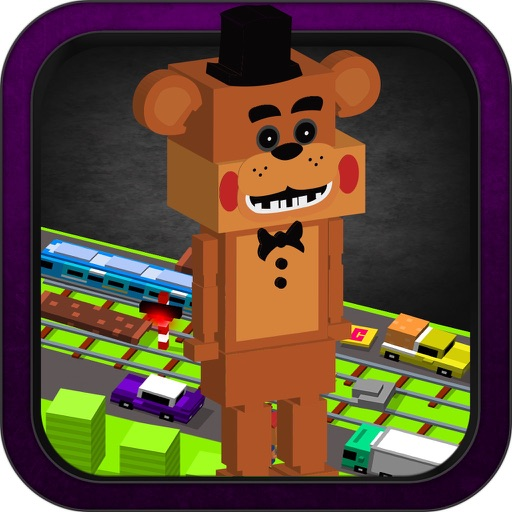 "City Crossy Game: for ""Five Nights At Freddy´s Fnaf"" Version iOS App"