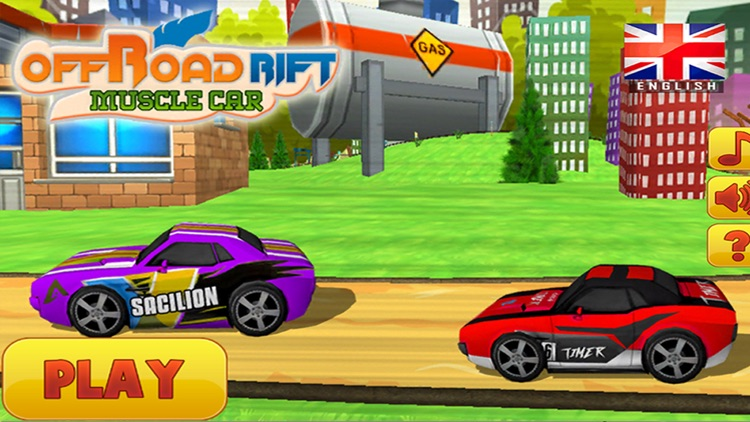 offroad rift free muscle car racing for kids