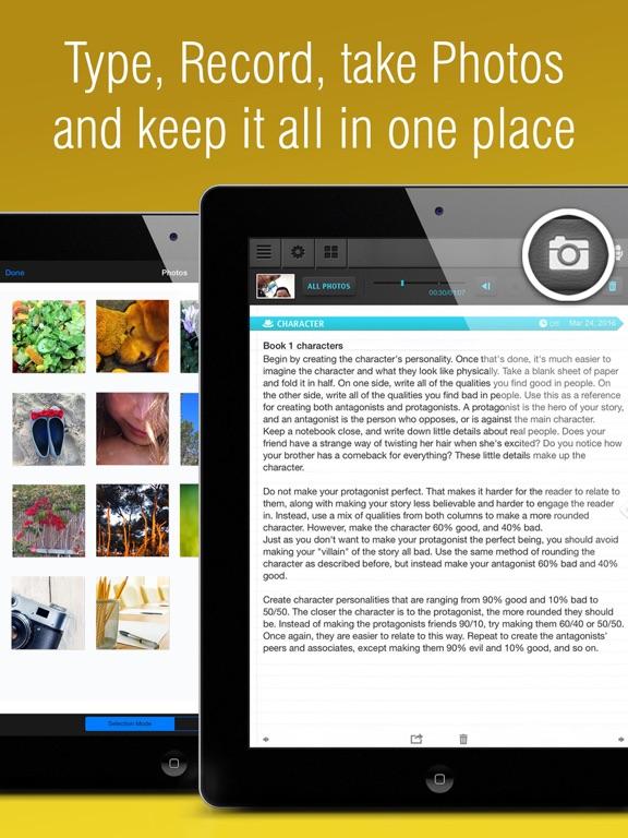 ipad book writing app