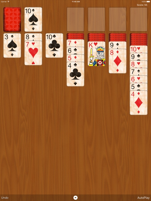 Solitaire Classic Скриншоты7