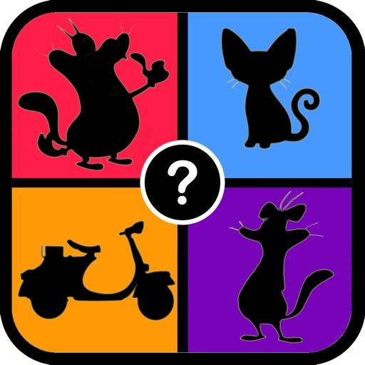 Shadow Quiz Oggy Cockroaches Version iOS App