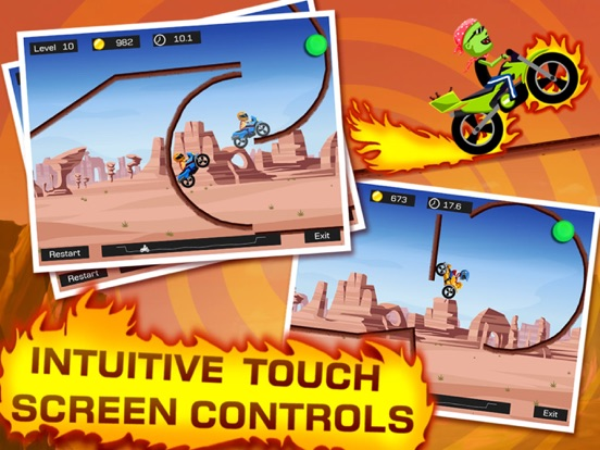 Top Bike - Best Motorcycle Stunt Racing Game Скриншоты10