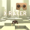 VR XRacer: virtual reality space racing vr games logo