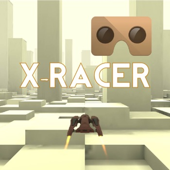 VR XRacer: virtual reality space racing vr games for iPhone