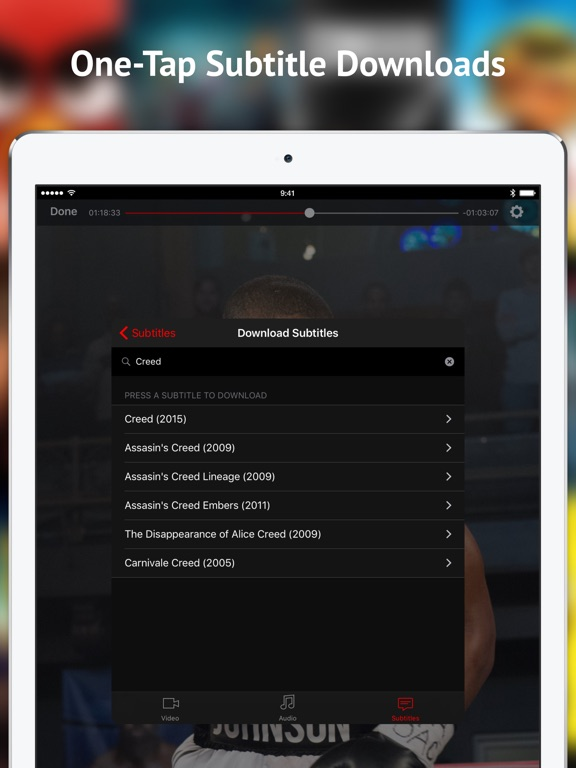 Screenshot #5 for ProPlayer - the video player