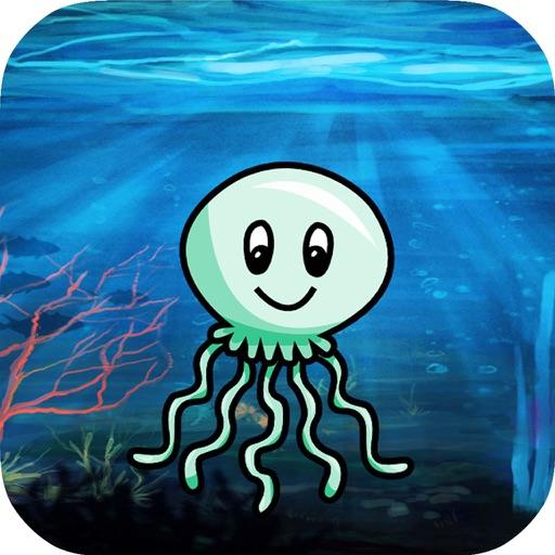 Jellyfish Adventure Sea : of Slip Away iOS App
