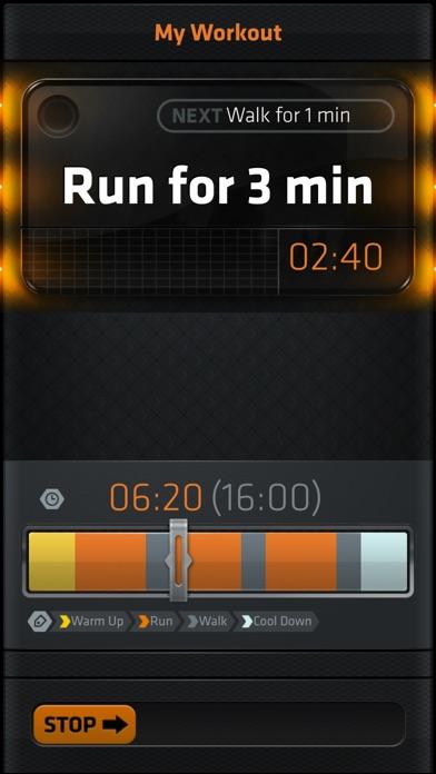 Interval Run screenshot two