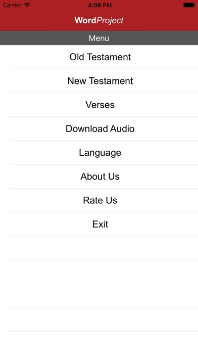 WORDPROJECT AUDIO BIBLE on the App Store