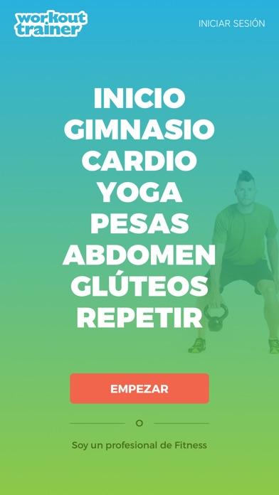 Entrenador Personal - Workout Trainer Screenshot