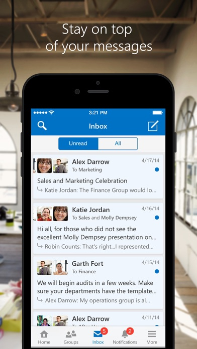 download Yammer apps 2