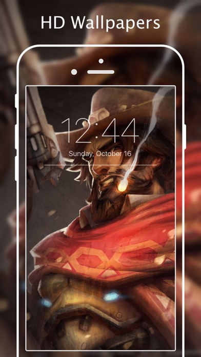 Screenshots of Wallpapers for Overwatch - HD Backgrounds for iPhone
