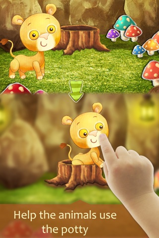 Potty Training With Animals screenshot 1