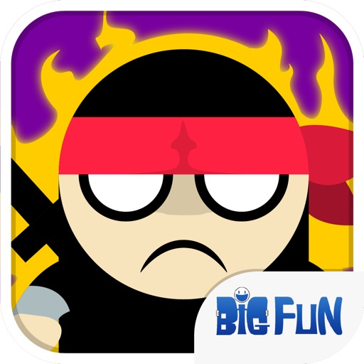 Black Stickman Chase iOS App