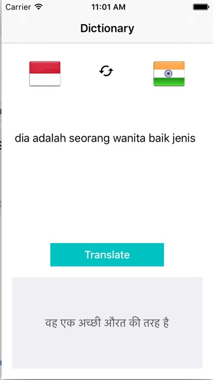 Translate Indonesian To Hindi Dictionary Translation
