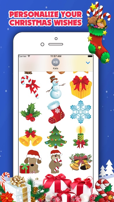 Christmas Collection for iMessageСкриншоты 3