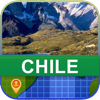Desconectado Chile Mapa - World Offline Maps