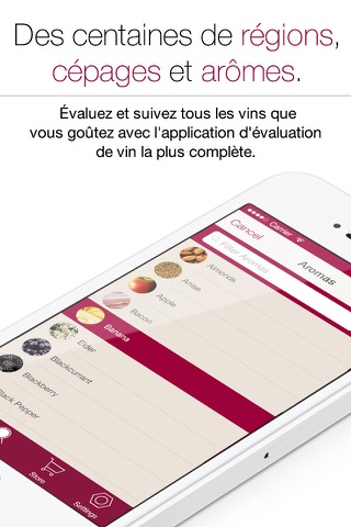 Wine Notes - Rate, Track and Share Your Wine screenshot 2