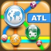 Atlanta Maps - Download Transit Maps, City Maps and Tourist Guides. app free for iPhone/iPad