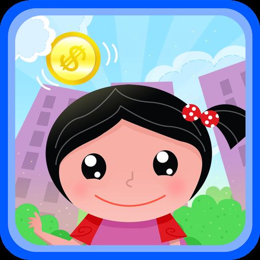 Raining coins - help cute Eve