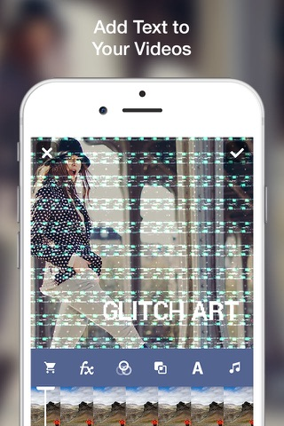 Glitch Art- Video Effects Edit screenshot 4