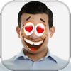 Funny Face Sticker Camera - Cartoon Yourself with Crazy Stamps and Make Comic Photo Montage.s