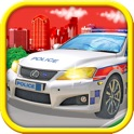 Police Cars - coloring book icon