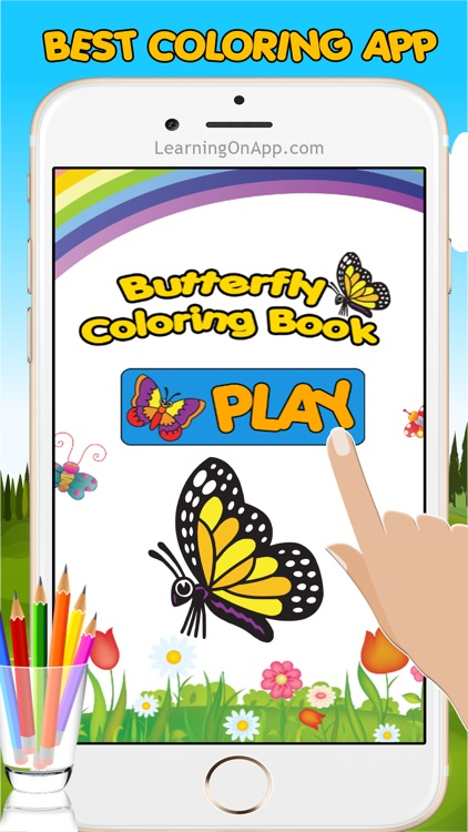 Butterfly Coloring Book For Kids And Toddler