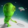Mini Alien Sky Race Pro - new block run challenge