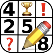 FREE Expert Sudoku - Samurai, Hyper, Jigsaw and X (Cross) Sudokus to Challenge You! icon
