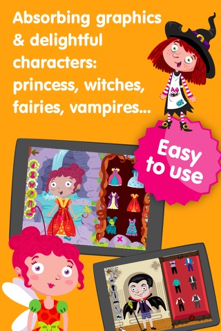 Dress Up Characters - Dressing Games for Toddlers screenshot 4