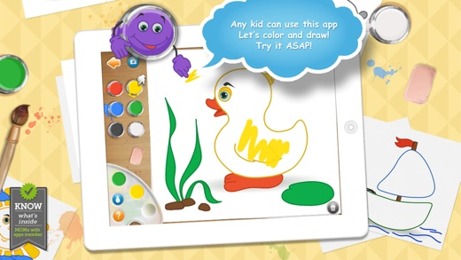 Live Colors For Kids Coloring Pages 4 Girlsboys On The App Store