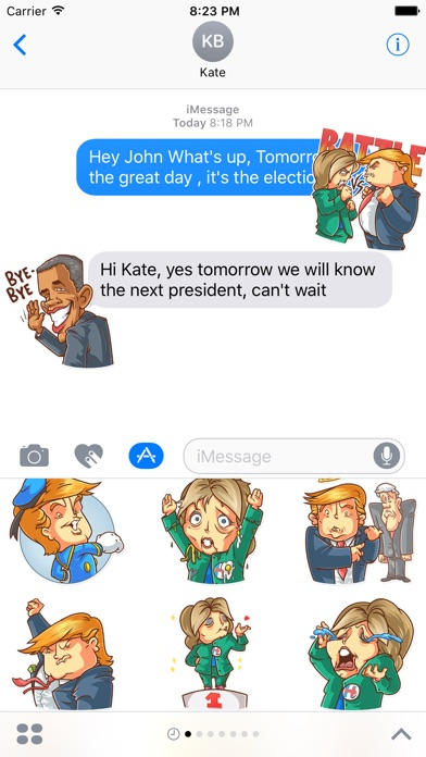 download Election Day Emoji Stickers - for iMessage apps 1
