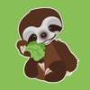Baby Sloth - Emoji Stickers