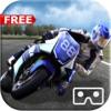 VR自行车锦标赛 - 沥青自行车比赛免费家庭友好赛车游戏免费VR演示