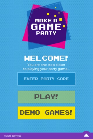 Make A Game Party screenshot 1
