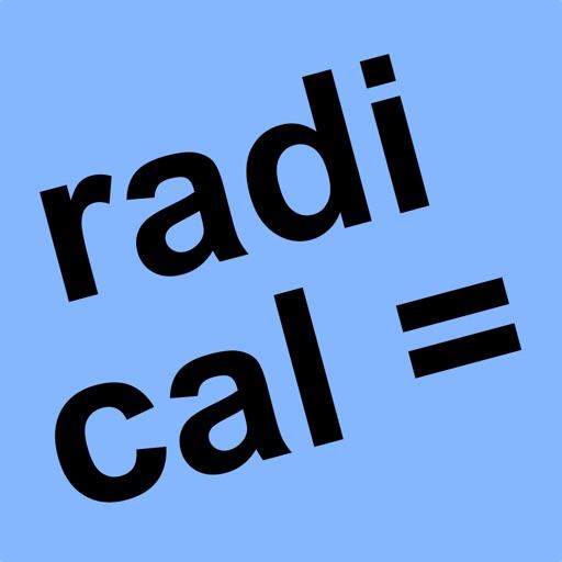 ARadicalEqn Radical Equations iOS App