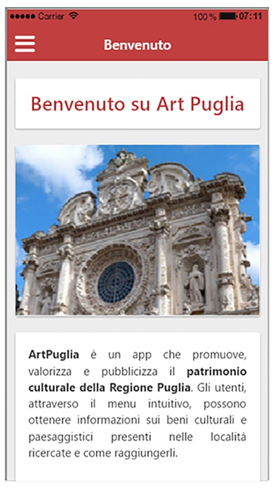 Screenshot of Art Puglia4